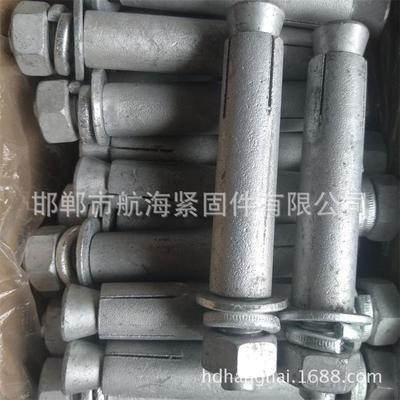 厂家自营 热镀锌国标膨胀螺栓达克罗膨胀高质量热镀锌膨胀螺栓