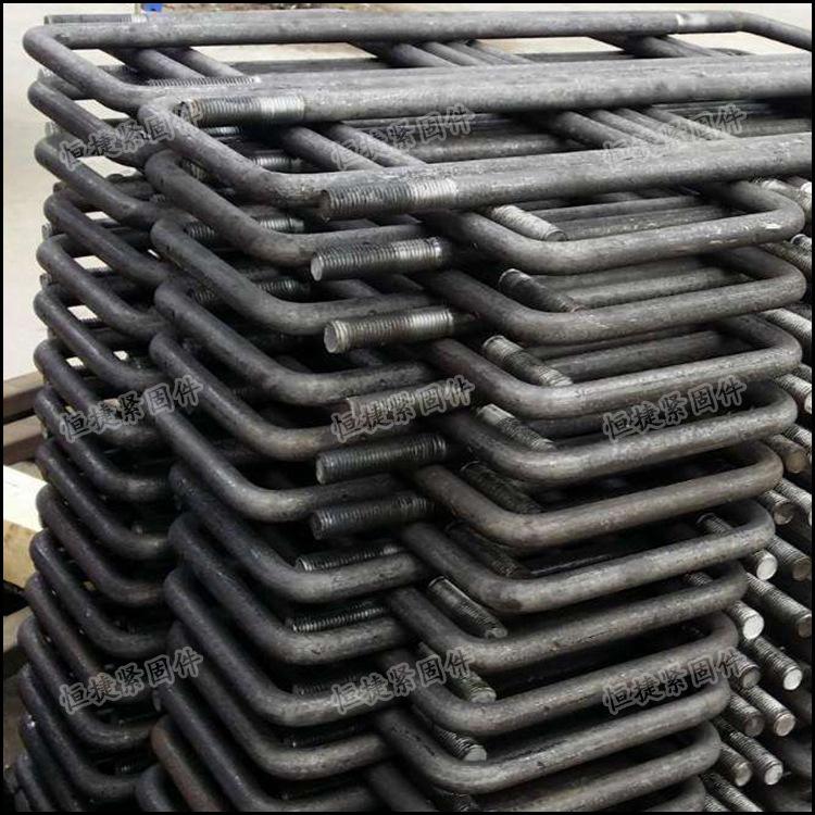 永年厂家螺栓工字钢预埋件方U型螺丝