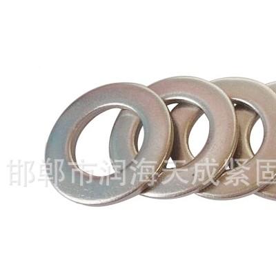 永年厂家直销白锌平垫片 碳钢超薄垫圈