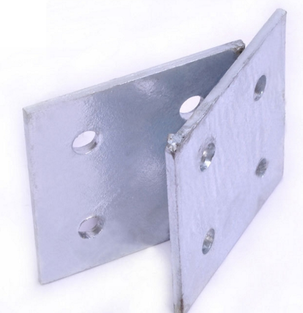 永年厂家直销电镀锌幕墙预埋铁板 路灯预埋件 幕墙钢板