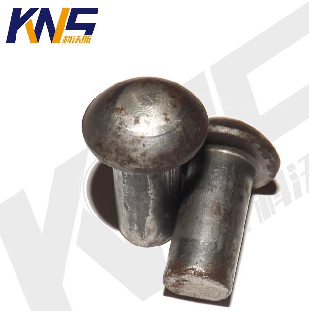 永年厂家圆头销轴 金属实心半圆头铁铆钉