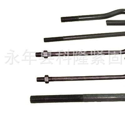 永年厂家直销 国标 碳钢4.8级 预埋9字地脚螺栓