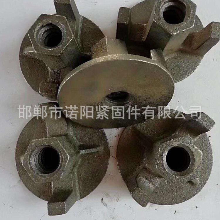 永年厂家直销球墨铸铁山型螺母 圆盘螺母