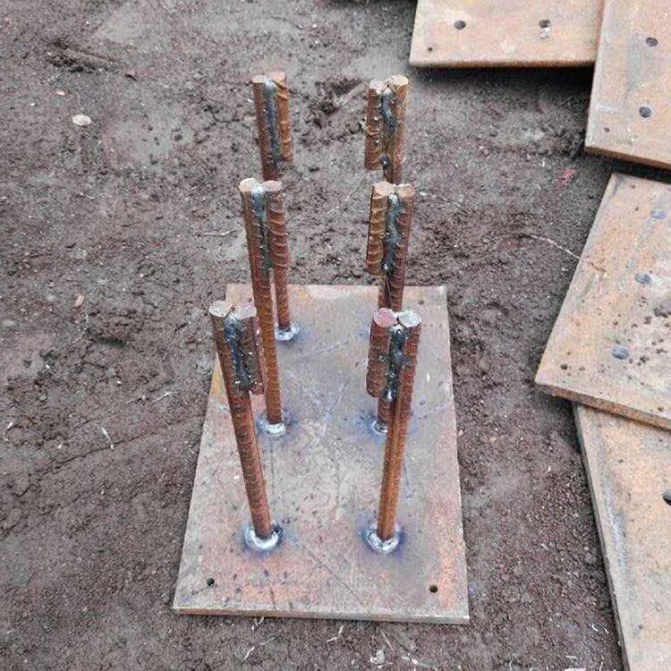 永年厂家直销地脚螺栓预埋件焊板地脚螺栓