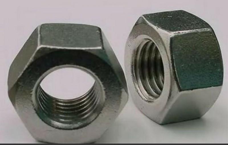 永年厂家螺母 六角螺母 光螺母 4.8级