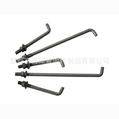 永年厂家自产自销预埋地脚螺栓M24*1200 7字9字