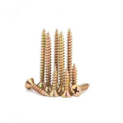 永年厂家高强度纤维板钉 平头十字槽纤维钉