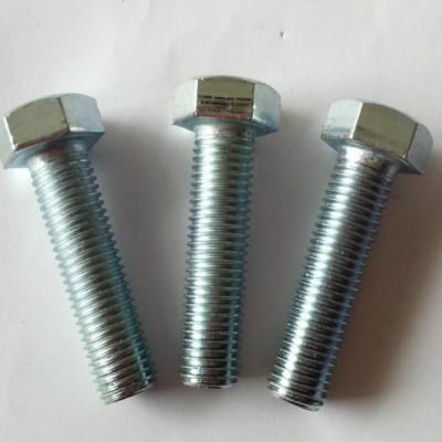 永年厂家直销镀锌螺栓 六角螺丝 国标30栓