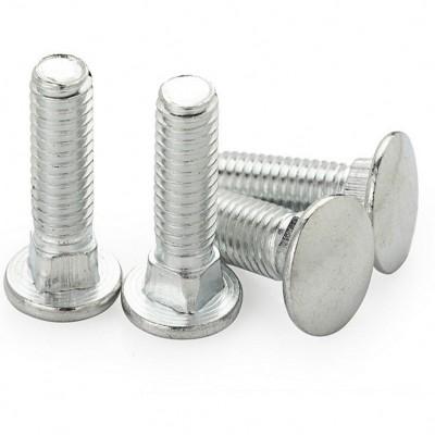 永年厂家直销马车螺栓桥架螺丝半圆头方颈螺栓