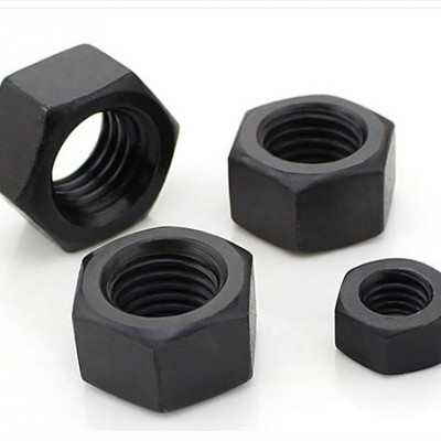 永年厂家GB6170发黑六角螺母 碳钢高强度