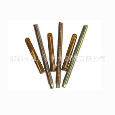 永年厂家幕墙专用膨胀栓 镀彩锌化学锚栓 国标化学膨胀螺丝