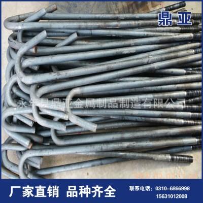 永年厂家地脚螺栓M30 GB7999字型地脚螺丝预埋件