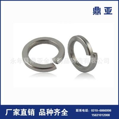 永年厂家 镀锌蓝白镀锌弹垫 m10优质镀锌弹垫