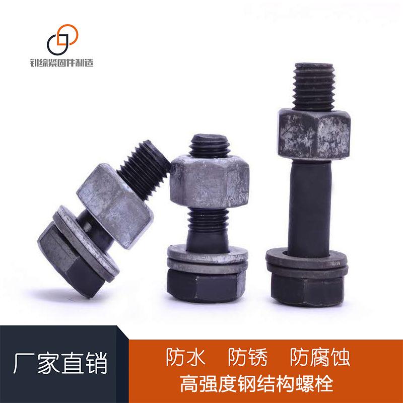 永年厂家 8.8级高强度外六角螺栓 高强度螺母