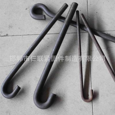 永年厂家钢结构伞把地脚 J型地脚螺栓 预埋件地脚螺丝