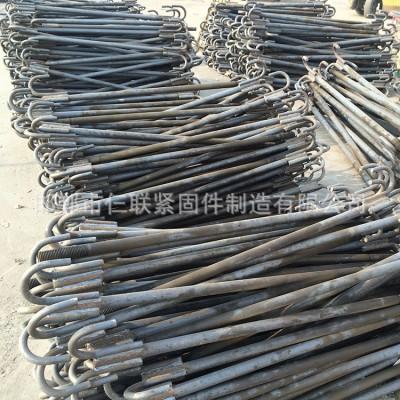永年厂家碳钢4.8级猫爪地脚 国标GB798猫爪地脚