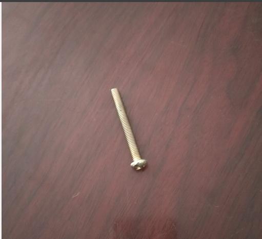 永年厂家镀彩锌半圆头螺钉