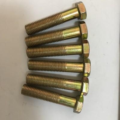 永年厂家镀彩锌螺栓