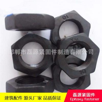 永年厂家六角薄螺母 扁螺母 国标高强度薄螺母