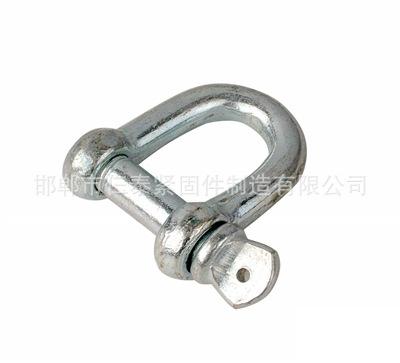 永年厂家美标高强度镀锌卸扣/D型卸扣/吊索具连接器