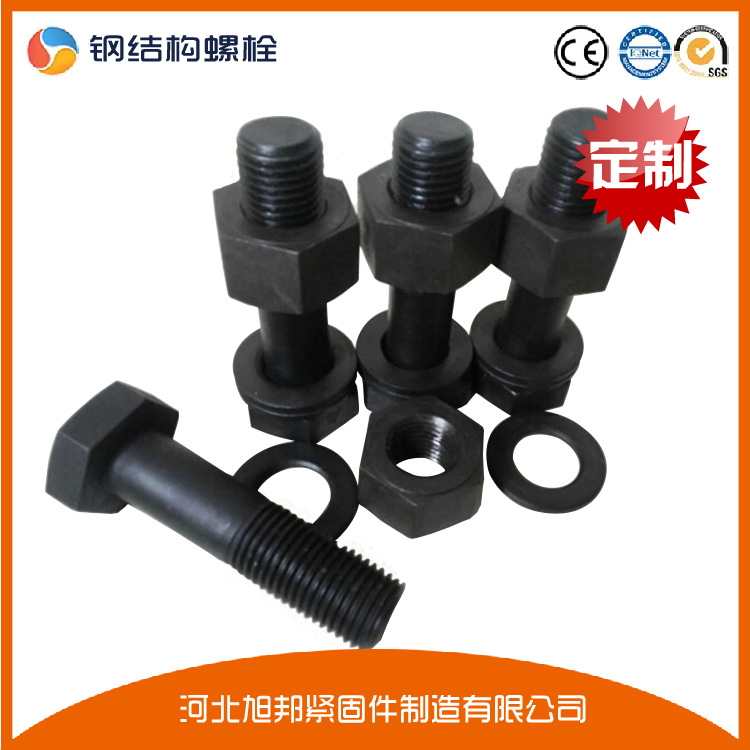永年厂家大六角螺栓 扭剪螺栓 钢结构专用高强螺栓