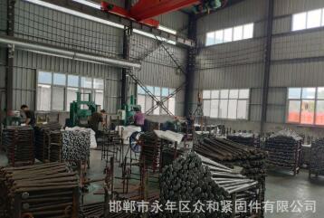 永年厂家众和管片螺栓可定做各种规格