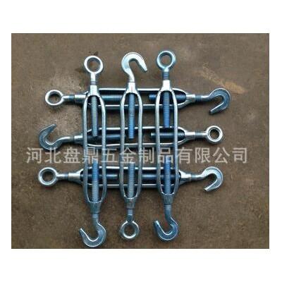 永年厂家开体花篮 建筑电缆专用钢丝绳索收紧器镀锌花篮