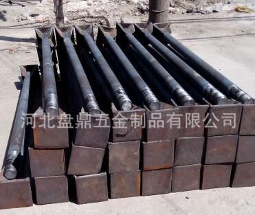 永年厂家m42氧化发黑地脚螺栓预埋件 焊板地脚螺栓