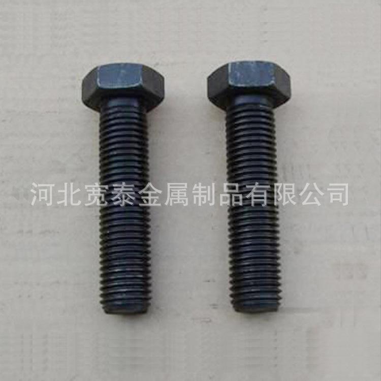 永年厂家外六角高强度螺栓8.8级高强度螺丝