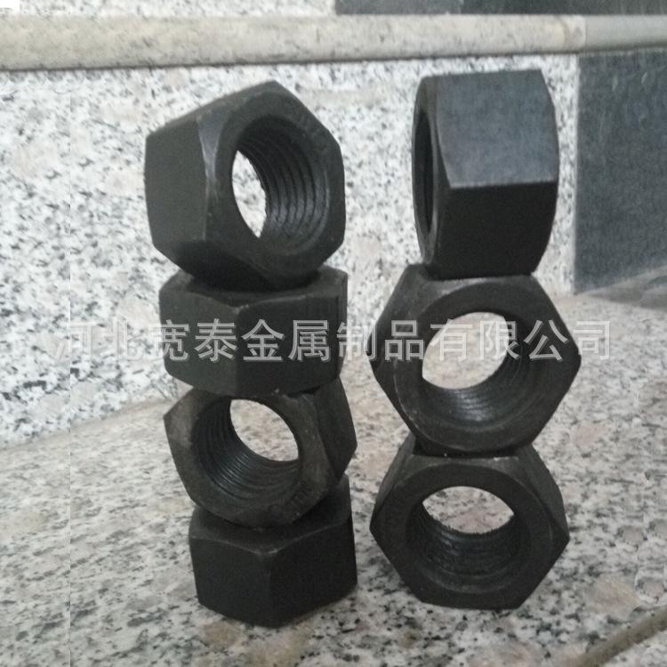 永年厂家GB6170-86六角螺母 高强度碳钢8.8
