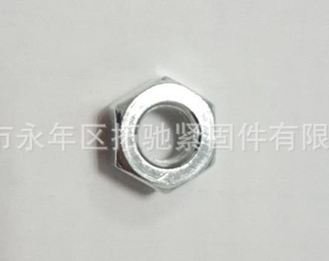 永年厂家六角螺母 六角螺栓帽螺丝帽 M5 M6