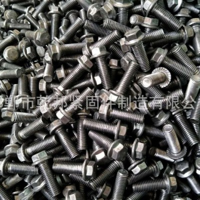 永年厂家法兰螺栓、镀锌法兰、本色法兰、六角法兰栓