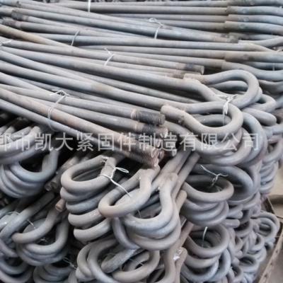 永年厂家碳钢Q235级地脚螺栓 m30系列9字