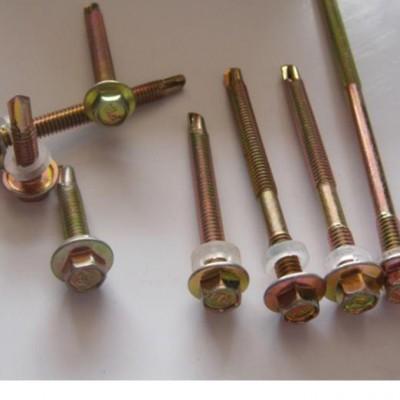 永年厂家外六角燕尾螺丝钉自攻螺丝M4.8 自钻尾螺钉