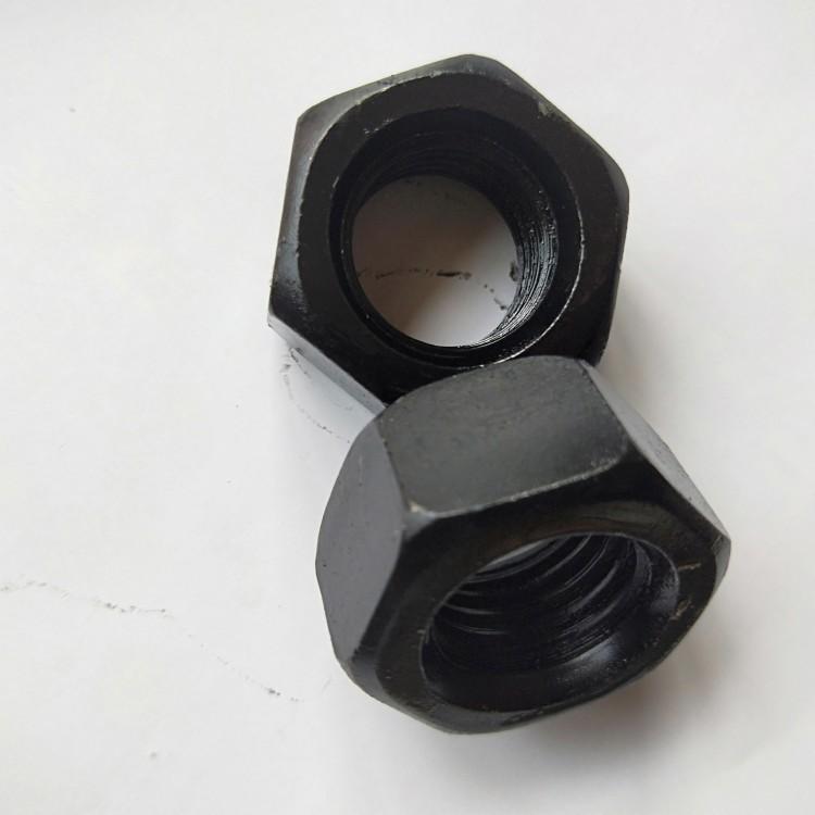 永年厂家直销 高强度螺母 高强六角螺帽 加厚高强螺母