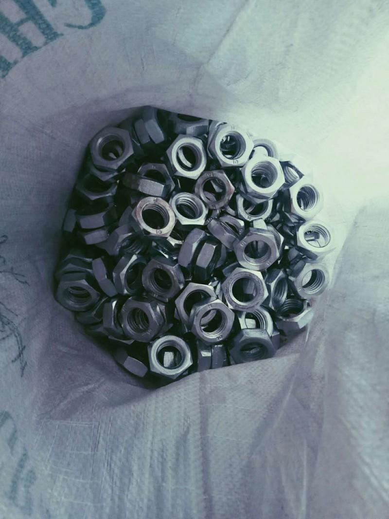 永年厂家 六角薄螺母 GB6172螺母