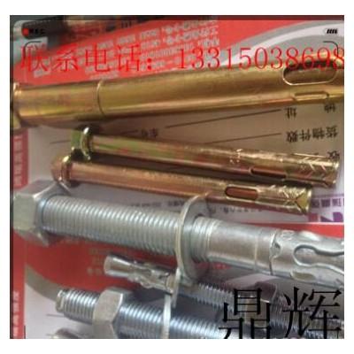 永年厂家 膨胀螺栓 四片膨胀壁虎螺栓