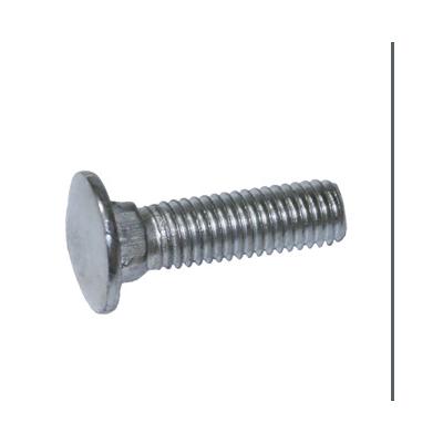 永年厂家生产镀锌M10*30马车螺栓 英美制螺栓