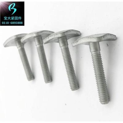 永年厂家四方螺栓 方头螺栓m24碳钢四方头螺丝