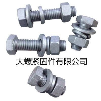永年厂家热镀锌 外六角M24*300全牙8.8级