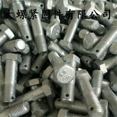 永年厂家热镀锌孔眼螺栓 打孔螺栓 电力孔销螺栓