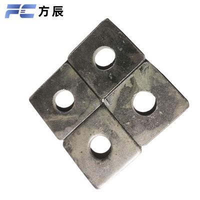 永年厂家热镀锌方垫 方垫金属四方垫片