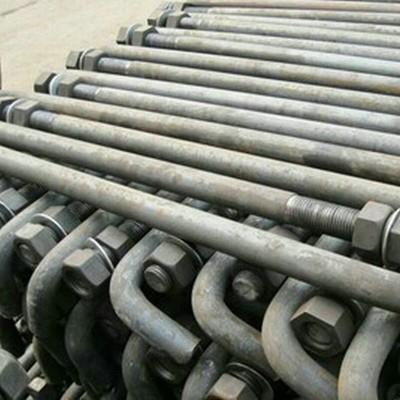 永年厂家30*1米标志杆预埋件地脚螺栓Q235材质
