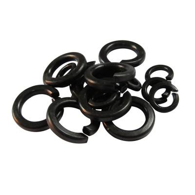 永年厂家氧化发黑开口垫圈碳钢Q235高强度弹垫