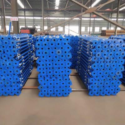 永年厂家钢支撑喷涂塑钢支撑单支顶三脚架建筑支撑可定制