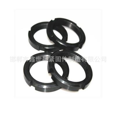 永年厂家碳钢8.8级止退国标圆螺母 GB812