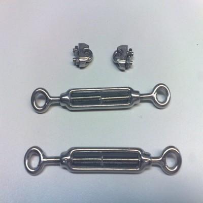 永年厂家不锈钢花篮螺丝 钢丝绳收紧器