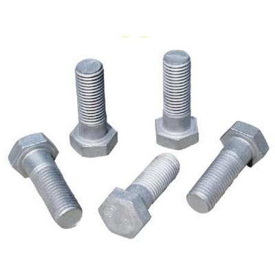 永年厂家外六角螺栓热镀锌铁塔国标碳钢六角螺丝全牙半牙六角螺栓