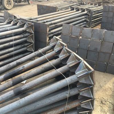永年厂家焊板地脚螺栓国标本色地角螺丝 碳钢4.8