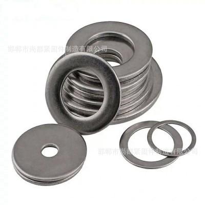 永年厂家平垫圈铁平垫圈国标垫圈加大孔垫圈热镀锌垫